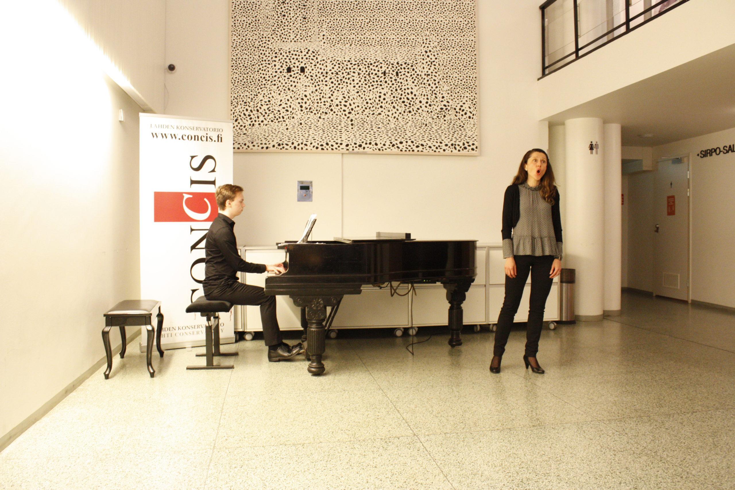 Edyta Petlin laulu ja Jesse Ansala piano
